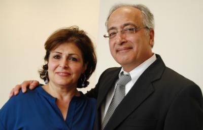 Dr. & Mrs. Ehsan Salek