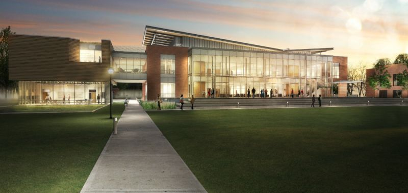 Greer Center Rendering