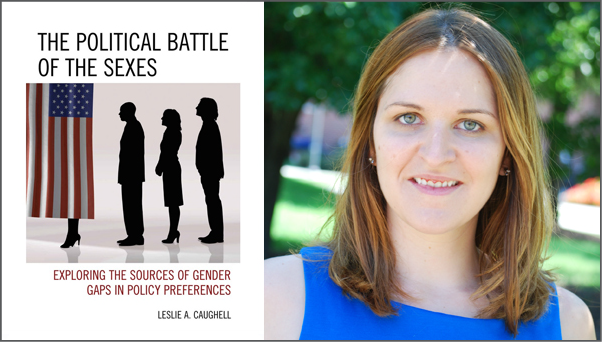 The Political Battle of the Sexes by Leslie Caughell