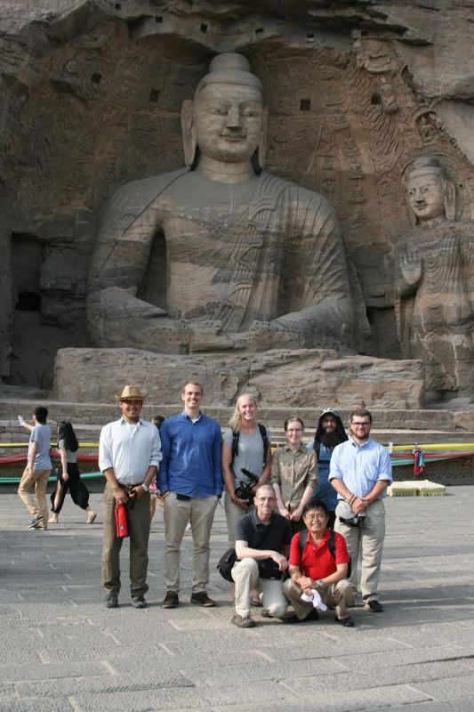 Students travel to China with Professors Emmanuel and Wang