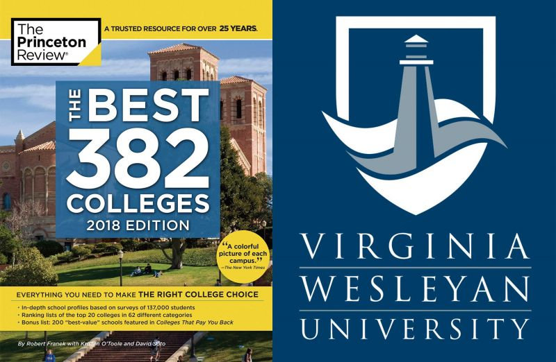 Princeton Review Best 382 Colleges 2018