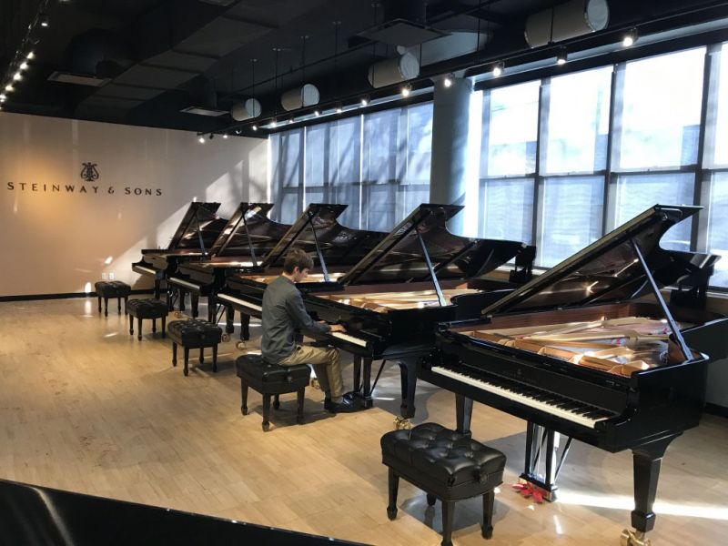Steinway and Sons in New York City