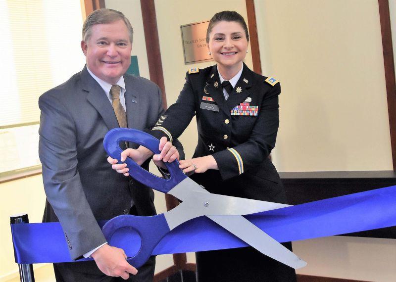 ROTC Ribbon Cutting Ceremony