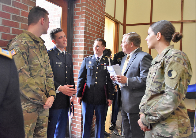 ROTC Office Opening