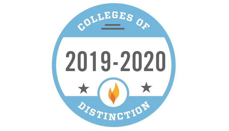 2019-20 Colleges of Distinction Badge