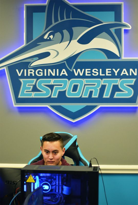 Virginia Wesleyan freshman Brandon Kwon will begin competing with the VWU esports team in January.